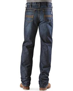 Cinch Men's Silver Label Dark Wash Jeans Dark Stone 34W x 34