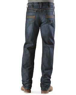 Cinch Men's Silver Label Dark Wash Slim Straight Jeans - MB9