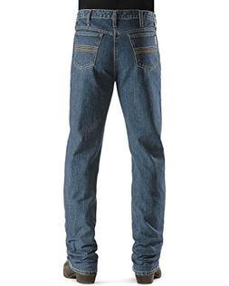 Cinch Men's Silver Label Slim Fit Jean, Medium Stone Wash, 2