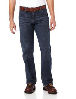 Wrangler Men's Silver Edition Regular Fit Boot Cut, Grey Bul