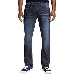 Buffalo David Bitton Mens Six-X Faded Straight Fit Slim Jean