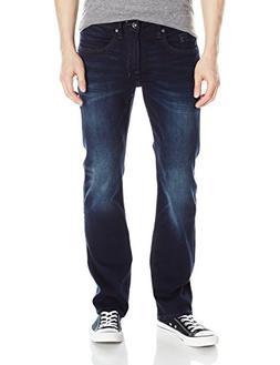 Buffalo David Bitton Men's Six Slim Straight Leg Jean, Authe