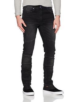 Calvin Klein Men's Skinny Fit Denim Jean, Sunlight Black, 32