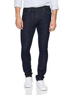 Goodthreads Men's Skinny-Fit Jean, Rinse/Dark Blue, 30W x 28