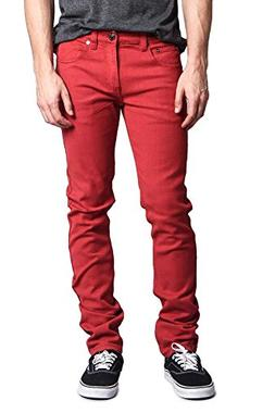 Victorious Men's Skinny Fit Colored Jeans DL937 - Picante -