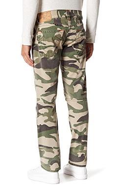 True Religion Men's Camo Skinny Moto Jeans-31