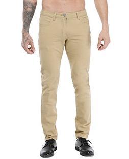 ZLZ Men's Skinny Slim Fit Stretch Comfy Fashion Denim Jeans