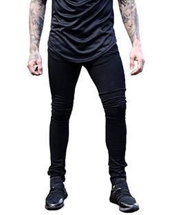XARAZA Men's Skinny Slim Fit Stretch Jeans Denim Pencil Pant
