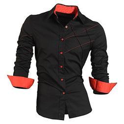 2a95ff6a39449 Shining4U Slim NEW casual shirts dress male mens clothing lo