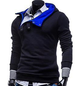 LOG SWIT Hot Men Slim Casual Men's Sweater Sweater Jacket Wi