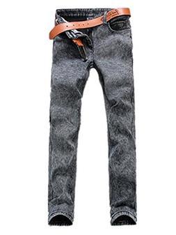 DUJUANNIAO Mens Slim Hot Sale Skinny Classic Jean Slim Jeans