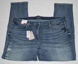 Express Slim Medium Wash Stretch+ Soft Cotton Men's Jeans NE