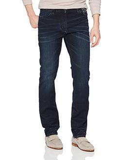 Calvin Klein Jeans Men's Slim Straight Fit Denim, Storm Indi