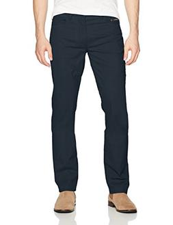 Calvin Klein Men's Slim Straight Stretch Calvary Pant, Dark