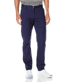 Dockers Men's Slim Tapered Fit Alpha Khaki Pant, Paper White