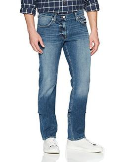 7 For All Mankind Men's Slimmy Fit Jean, Whistler Light, 32