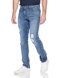 7 For All Mankind Men's Slimmy Slim Straight Leg Jean, Toro