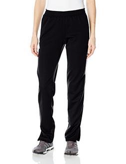 adidas Women's Soccer Tiro 17 Training Pants, Black/White, M