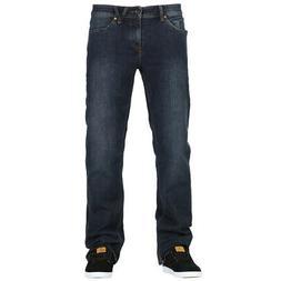 """Volcom """"Solver"""" Denim Pants  Men's Modern Straight 16"""" Jeans"""