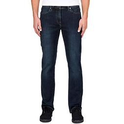 Volcom Men's Solver Modern Fit Denim Jeans, Vintage Blue, 33