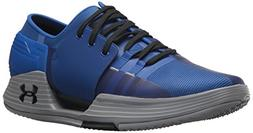 Under Armour Men's Speedform Amp 2.0 Sneaker, Royal /Steel,