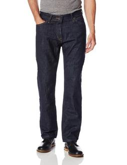Nautica Men's Straight Dark Jean, Marine Rinse, 34Wx32