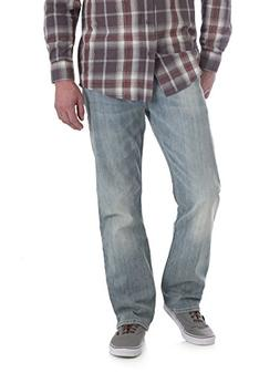 Wrangler Men's Straight Fit 4 Way Flex Jean