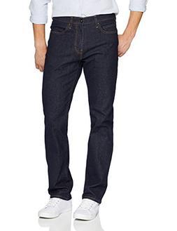 Goodthreads Men's Straight-Fit Jean, Rinse/Dark Blue, 35W x