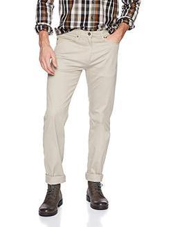 Dockers Men's Straight Fit Jean Cut Khaki Pants D2, Safari B