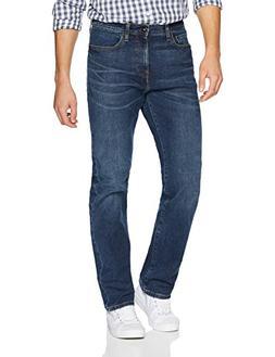 Goodthreads Men's Straight-Fit Jean, Medium Blue, 36W x 28L