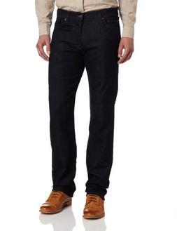 7 For All Mankind Men's Standard Straight-Leg Jean in Dark C