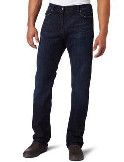 7 For All Mankind Men's Standard Straight Leg Jean in Los An