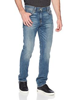 7 For All Mankind Men's Standard Straight Leg Jean, Bedrock,