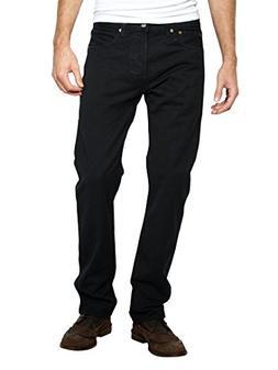 Levi's Mens 501 Regular Straight-Leg Denim Jeans Black Size