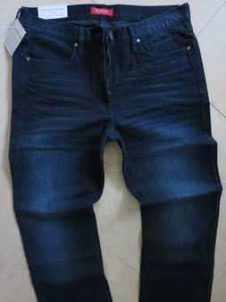 Guess Straight Leg Jeans Men's Size 34 X 32 Classic Distress