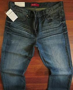 Guess Straight Leg Jeans Men Size 36 X 32 Vintage Distressed