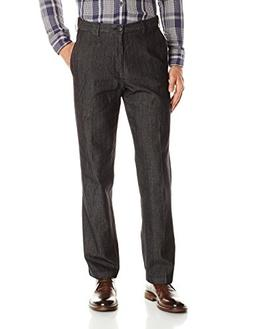 Haggar Men's Stretch Color Denim Expandable Waist Classic Fi
