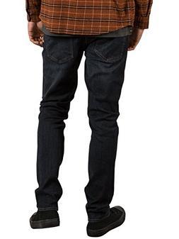 Volcom Men's 2x4 Stretch Denim Jean, Vintage Blue, 38X34