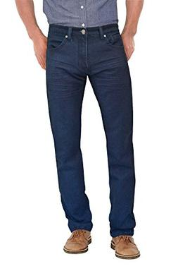 Agile Mens Super Comfy Straight Stretch Denim Jean AKP44072S