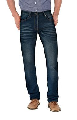 Agile Mens Super Comfy Straight Stretch Denim Jean AKP44101S