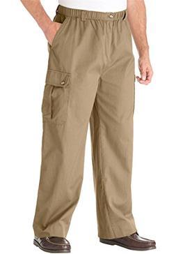 KingSize Men's Big & Tall Knockarounds Cargo Pants with Full