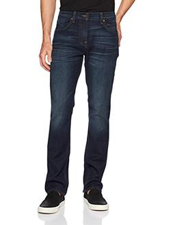7 For All Mankind Men's Tapered Straight Leg Jean Clean Pock