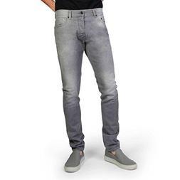 Diesel Men's Tepphar Stretch Skinny Fit Jeans Grey 0853T