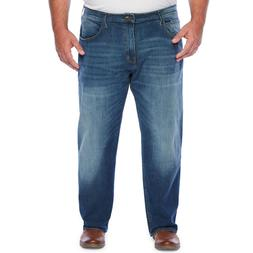 The Foundry Big & Tall Flex Denim Relaxed Straight Jeans Med
