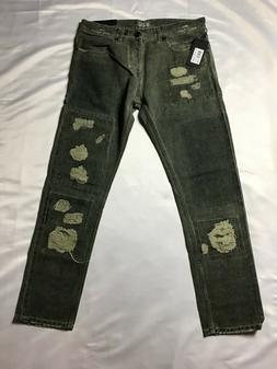 Top brand mens slim leg jeans size 30 leaf green NWT