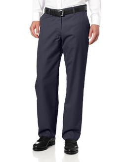 Lee Men's Total Freedom Relaxed Fit Flat Front Pant - 38W x