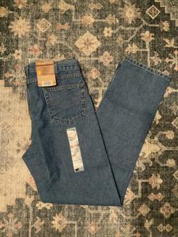 Carhartt Men's Traditional Fit Five Pocket Tapered Leg B18,S