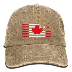 Doormat bikini Unisex Adult USA Canada Flag Washed Denim Cot