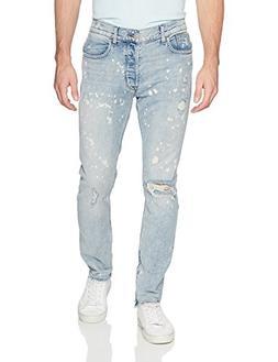 Hudson Jeans Men's Vaughn Skinny Ankle Zip Jeans, Echo Park,