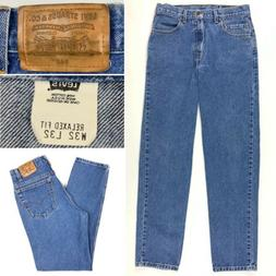 Vintage 90s Levi's Brown Tab 540 Relaxed Fit Denim Jeans M